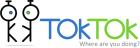 TokTok.logo.horizontal.slogan.whitebg