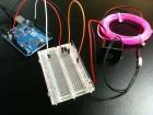 Arduino controls EL-wire