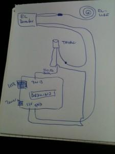 control EL-wire via arduino