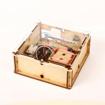 lasercutted box for arduino RFID projects - acrylic